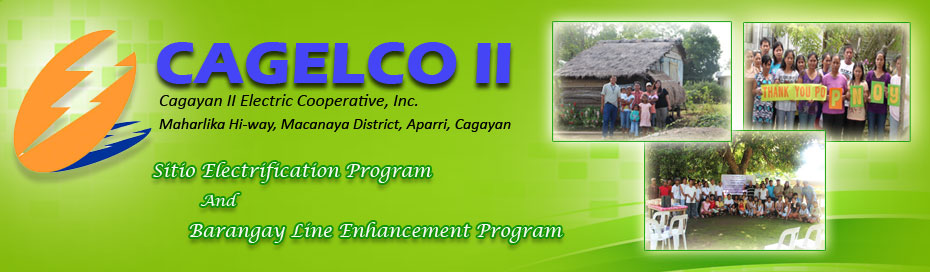 SITIO ELECTRIFICATION PROGRAM and BARANGAY LINE ENHANCEMENT PROGRAM UPDATE!